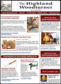 The Highland Woodturner online magazine
