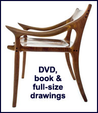 lowback chair plan