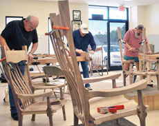 Build a Sculptured Rocker with Charles Brock (Columbus, GA)
