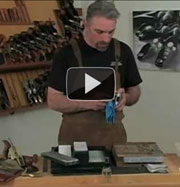 Plane iron sharpening video