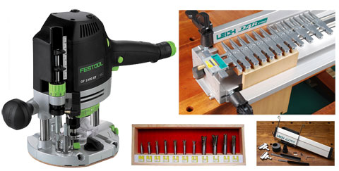 Leigh Dovetail Jig and Festool Router Giveaway