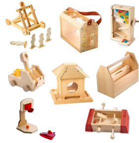 Red Toolbox Kids Project Kits