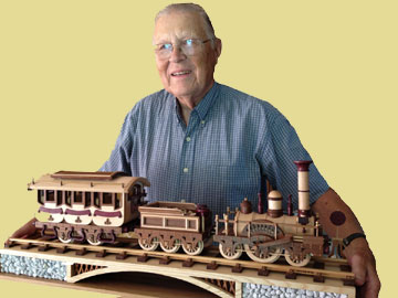 Navy Veteran's amazing woodworking