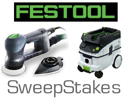 Festool Sander Sweepstakes