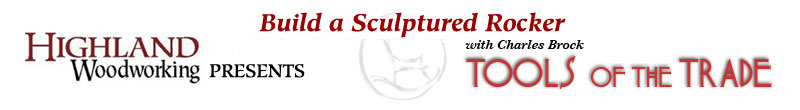 Sculptured Rocking Chair
