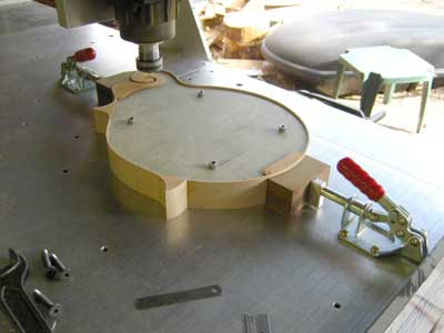 Mandolin Building Jig