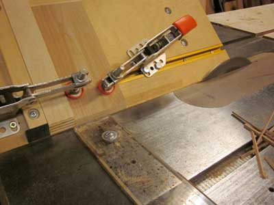 Miter Jig for the Tablesaw