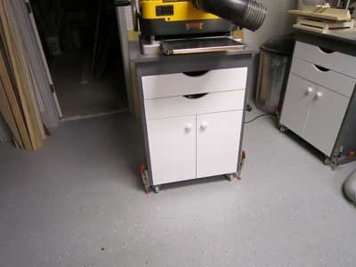 Mobile Tool Cart Stabilizers