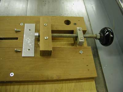 Sled for Cutting Small Pieces