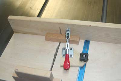 Cross Cut Sled Jig
