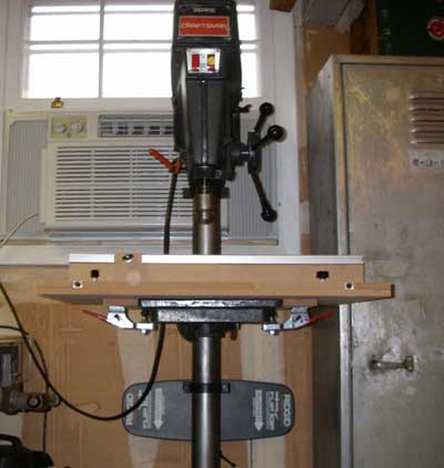 Drill Press Jig