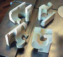 Wooden Burr Puzzle Plans