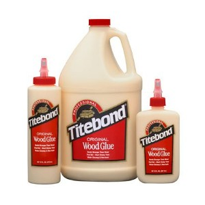 Titebond Original Wood Glue, 165039,40,01,02