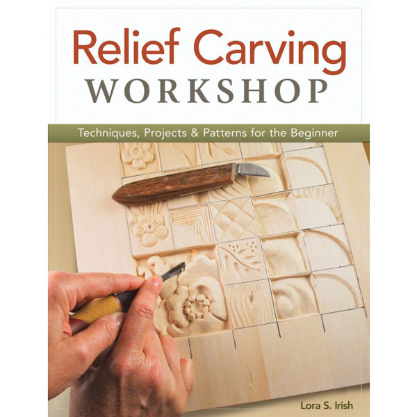 Relief carving workshop lora s irish wood books