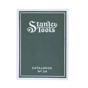 Stanley Tools Catalogue No 34