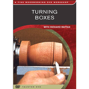 Turning Boxes with Richard Raffan DVD 220448