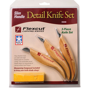 Flexcut Detail Knife Set w/ Slim Handles 125443