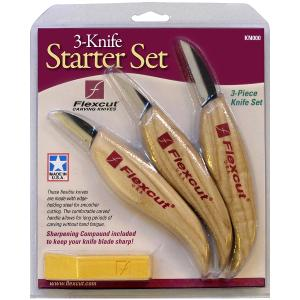 Flexcut 3-Knife Starter Set  125451