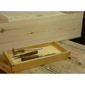 Build a Removable Tray Insert for your Sliding Lid Storage Box with Jim Dillon