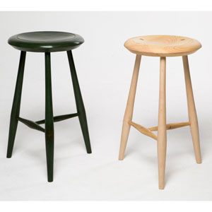 Class: Build a 3-Legged Green Stool