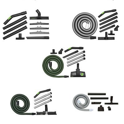 Festool Cleaning Attachment Sets For Dust Extractors