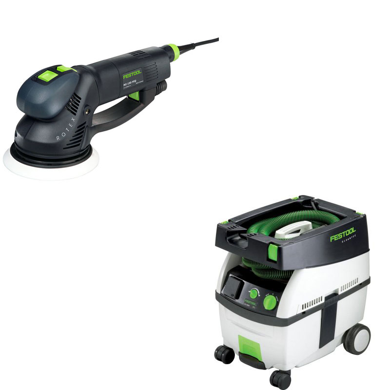 festool rotex ro 150 feq dual mode random orbit sander 6. Black Bedroom Furniture Sets. Home Design Ideas