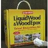 Abatron LiquidWood WoodEpox Wood Restoration Kit, 4 Quart 195610