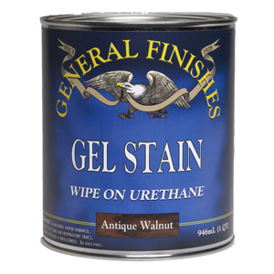 General Finishes Oil Based Gel Stain 1/2 PT