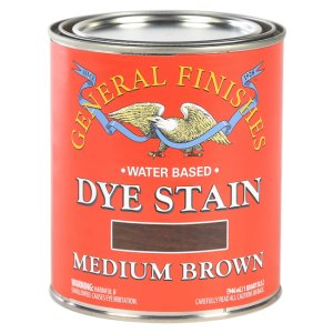 General Finishes Water-Based Dye Stain