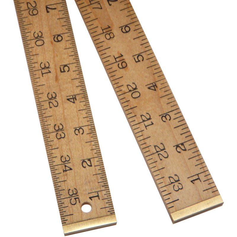 Wooden Rules Marking And Measuring Tools