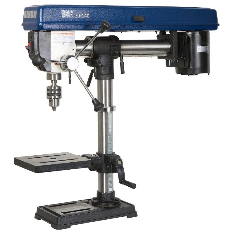 ... inch Bench Radial Arm Drill Press | Rikon Tools | Highland Woodworking