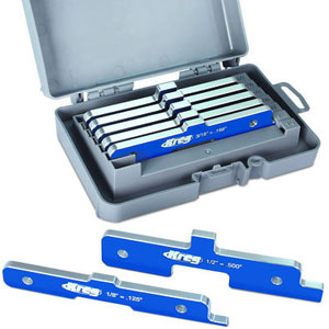 Kreg Precision Router Table Set Up Bars - Set of 7 124315