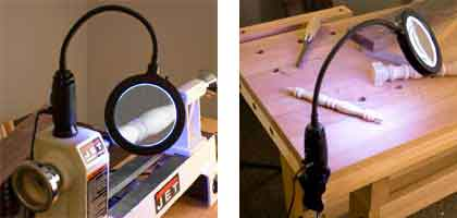 LED Work Light with Magnifier 169811