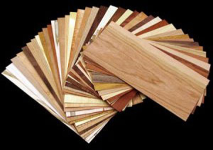 Domestic & Exotic Veneer Sample Pack - 20 sq. ft.  321012