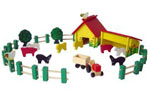Farm Set Woodman Concept Kit  178114