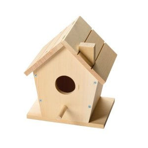 Red Toolbox Bird House Kit 301859