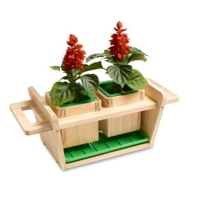 Red Toolbox Plant Pot Holder Kit 301870