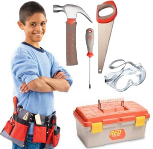 Kids Toolbox Set by Red Toolbox 301877
