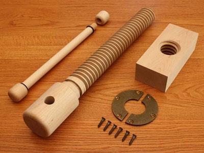 Lake Erie Toolworks Wood Vise Screw Premium Kit