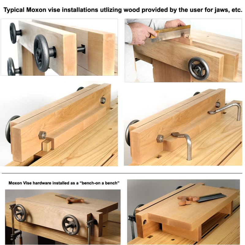 New Leg Vice - The Heavy Duty Bench Vice For Woodworking