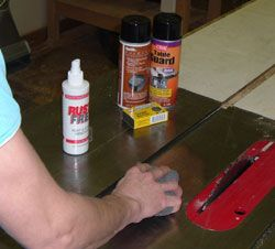 How to Control Rust in your Woodworking Shop