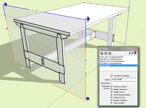 3D Furniture Design using SketchUp Part 2