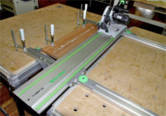 Festool parallel guide system
