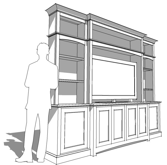 woodworking plans sketchup