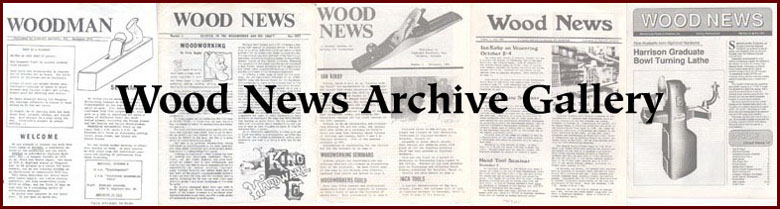 Highland Woodworking Wood News Archives