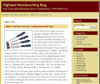 Highland Woodworking Blog