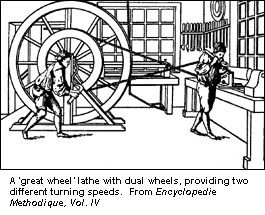 'Great Wheel' Lathe