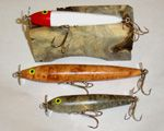 Calls, Knife and Lures Made by Brian Watson