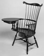 Philadelphia Writing Arm Chair