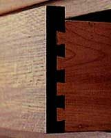 Half-blind Dovetail